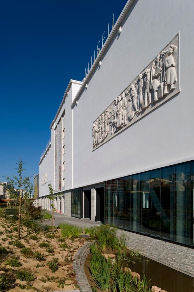 Imagen de la fachada principal del edificio, cedida por el Museo de Oriente.