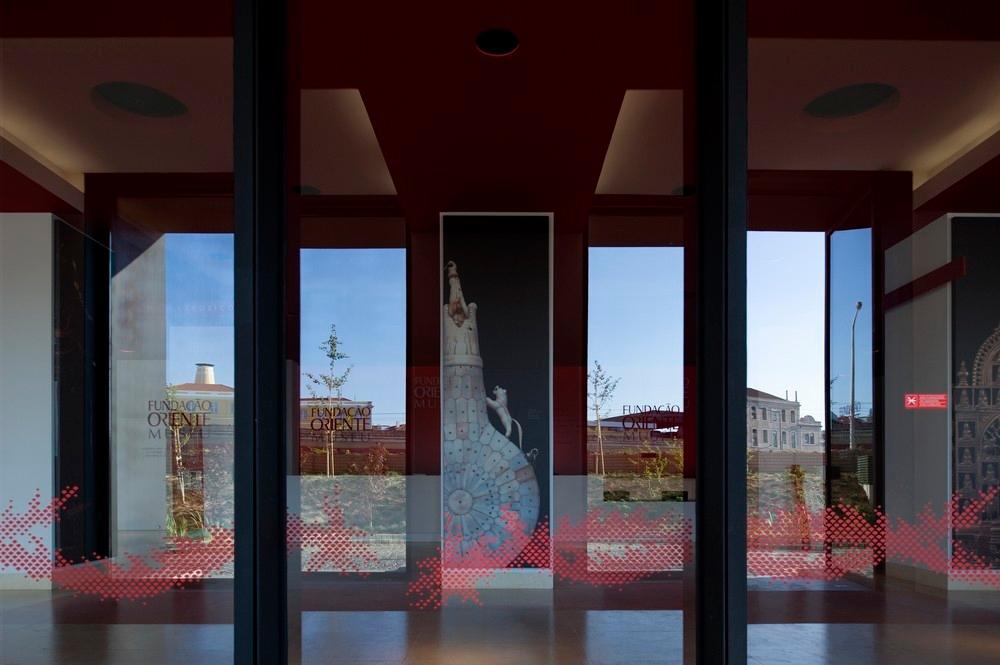 Imagen de la entrada principal del edificio, cedida por el Museo de Oriente.