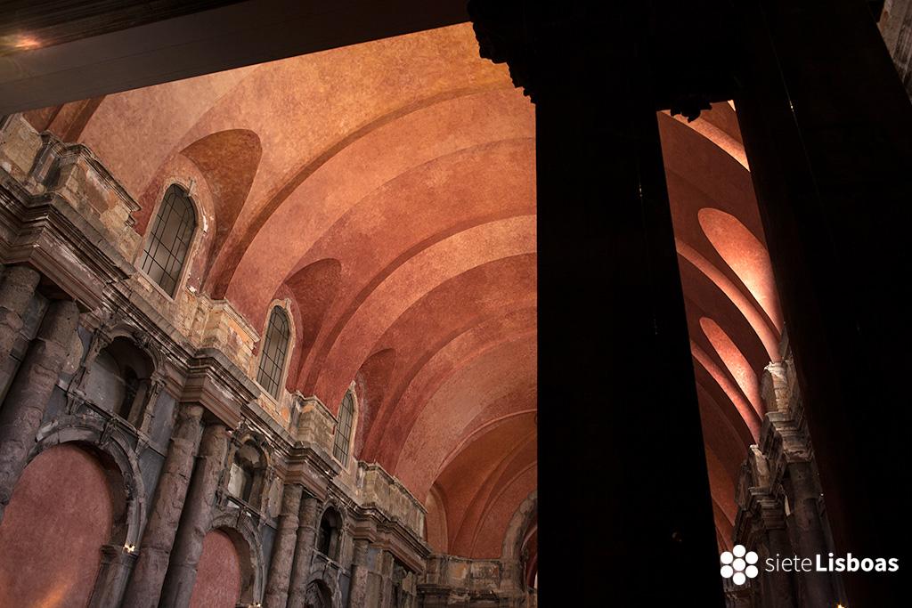 Iglesia de Santo Domingos tomada por el fotógrafo Diego Opazo, cedida a sieteLisboas.