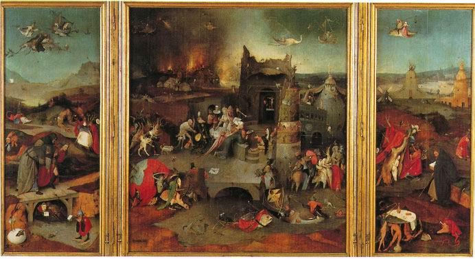 'Tentações de Santo Antão', J. Bosch. Imagen cedida por el MNAA, a sieteLisboas.