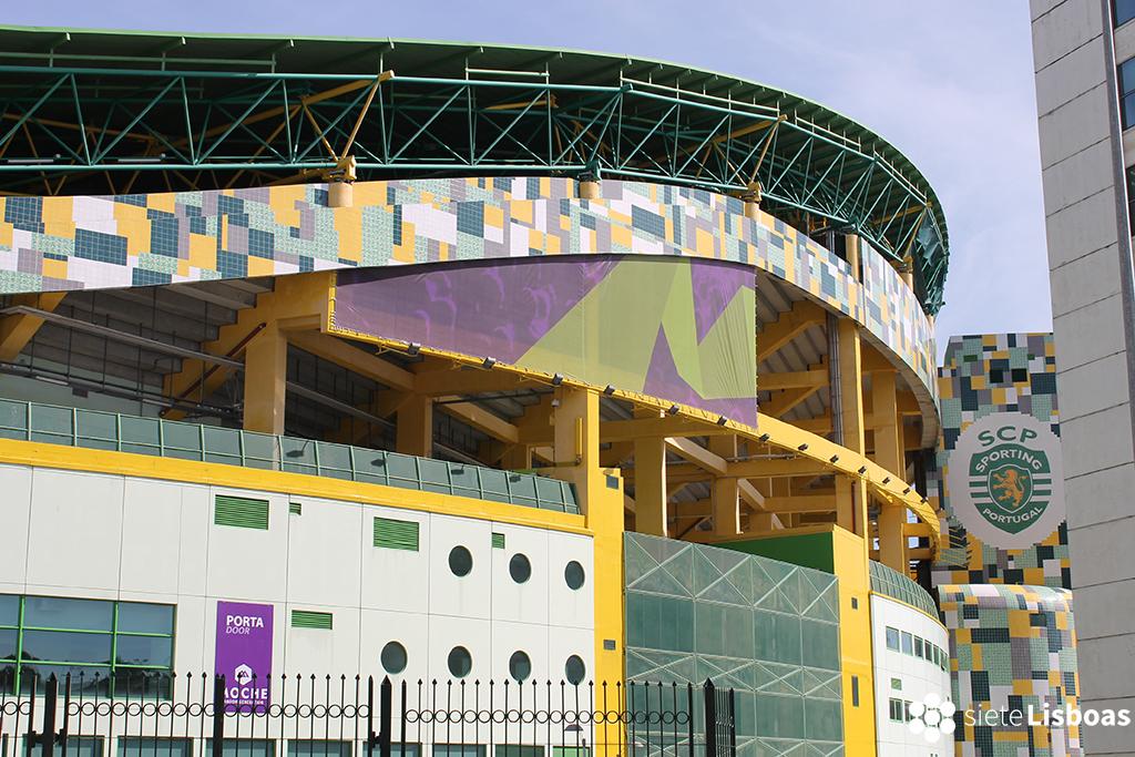 Fotografía del 'Estádio José de Alvalade', tomada por sieteLisboas.