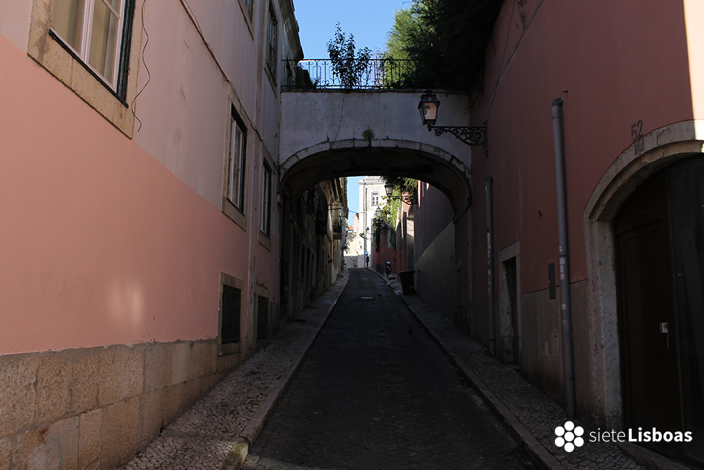 Fotografía tomada por sieteLisboas, en el 'Bairro Alto'.