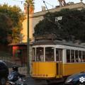 Tranvía 28E en la praça da Estrela. Fotografía de sieteLisboas.