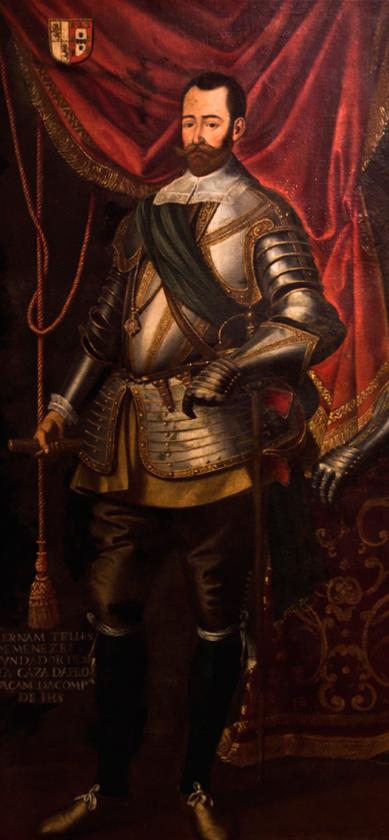 Imagen del Retrato de Fernão Teles de Meneses, del archivo del MUHNAC, cedida a sieteLisboas.