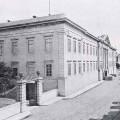 Imagen del archivo del MUHNAC, de su fachada de la rua da Escola Politécnica, cedida a sieteLisboas.