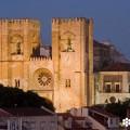 Imagen de la Catedral de Lisboa, la Sé, tomada por el fotógrafo Nuno Cardal, publicada en su libro 'Lisboa Panoramas' y cedida a sieteLisboas.
