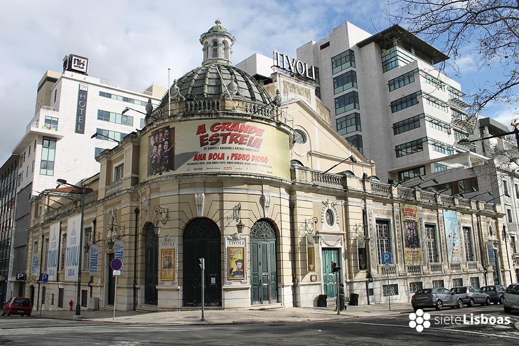 Fotografía del Teatro Tivoli, de sieteLisboas.
