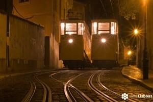 Los funiculares de Lisboa: El <em>Ascensor da Glória</em>