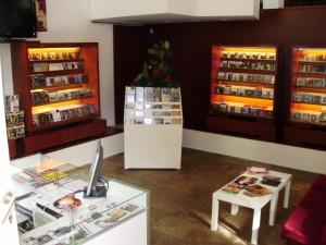 Fotografía de la tienda de Chiado de la 'Companhia Nacional de Música', cedida a sieteLisboas.