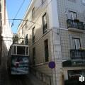 Fotografía del 'Ascensor do Lavra', tomada por Marta Tortajada en la Navidad de 2013, cedida a sieteLisboas.