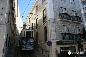 Los funiculares de Lisboa: El <em>Ascensor do Lavra</em>