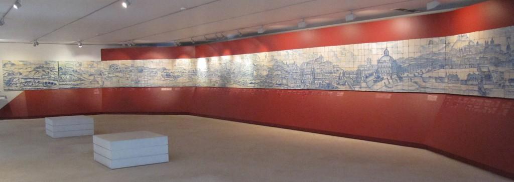 Fotografía del 'Grande Panorama de Lisboa, cedida por el Museu Nacional do Azulejo a sieteLisboas.