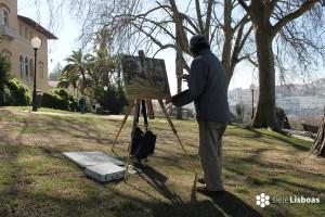 Minoru Nagashima: El pintor japonés de Lisboa