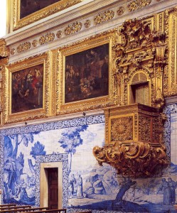 Fotografía de la 'Igreja da Madre de Deus', cedida por el Museu Nacional do Azulejo a sieteLisboas.