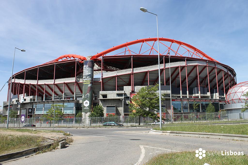 Fotografía del 'Estádio da Luz' tomada por sieteLisboas.