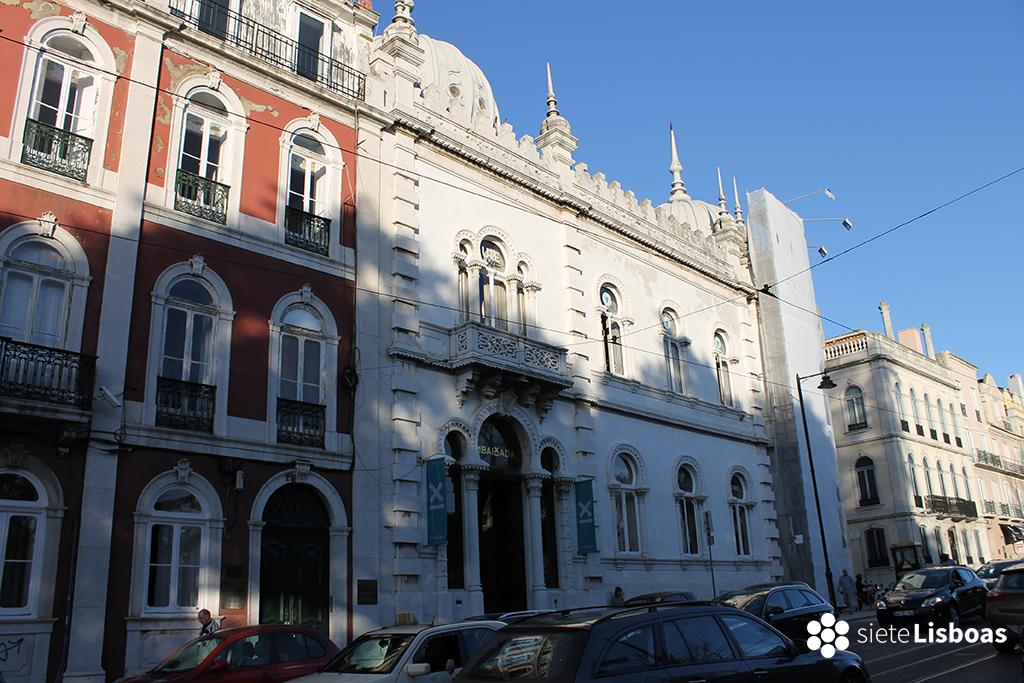Fotografía del edificio de 'Embaixada' tomada por sieteLisboas.