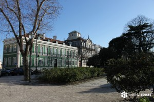 Fotografía de la 'Praça do Príncipe Real' tomada por sieteLisboas.