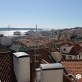 Fotografía tomada desde el 'Miradouro de Santa Catarina' por sieteLisboas.