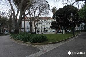 Fotografía de la 'Praça da Alegria', tomada por sieteLisboas.
