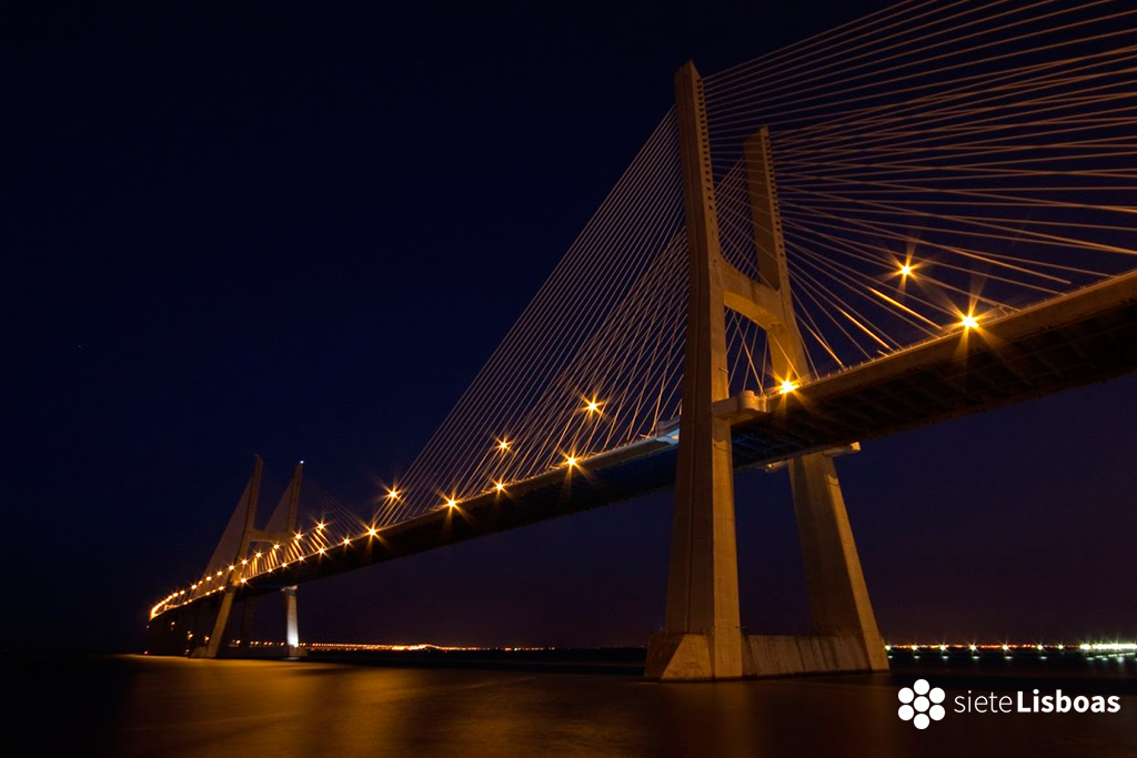 Imagen del puente 'Vasco da Gama' fotografiada por José Luís Albuquerque, cedida a sieteLisboas.