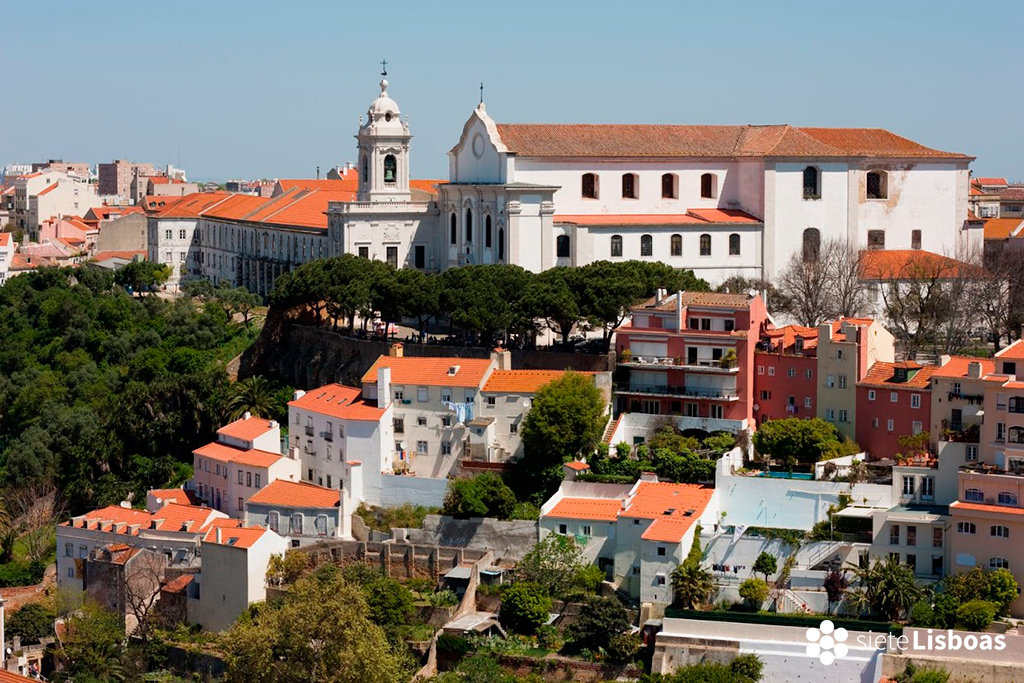 Imagen del 'Convento da Graça' fotografiada por José Luís Albuquerque y cedida a sieteLisobas.