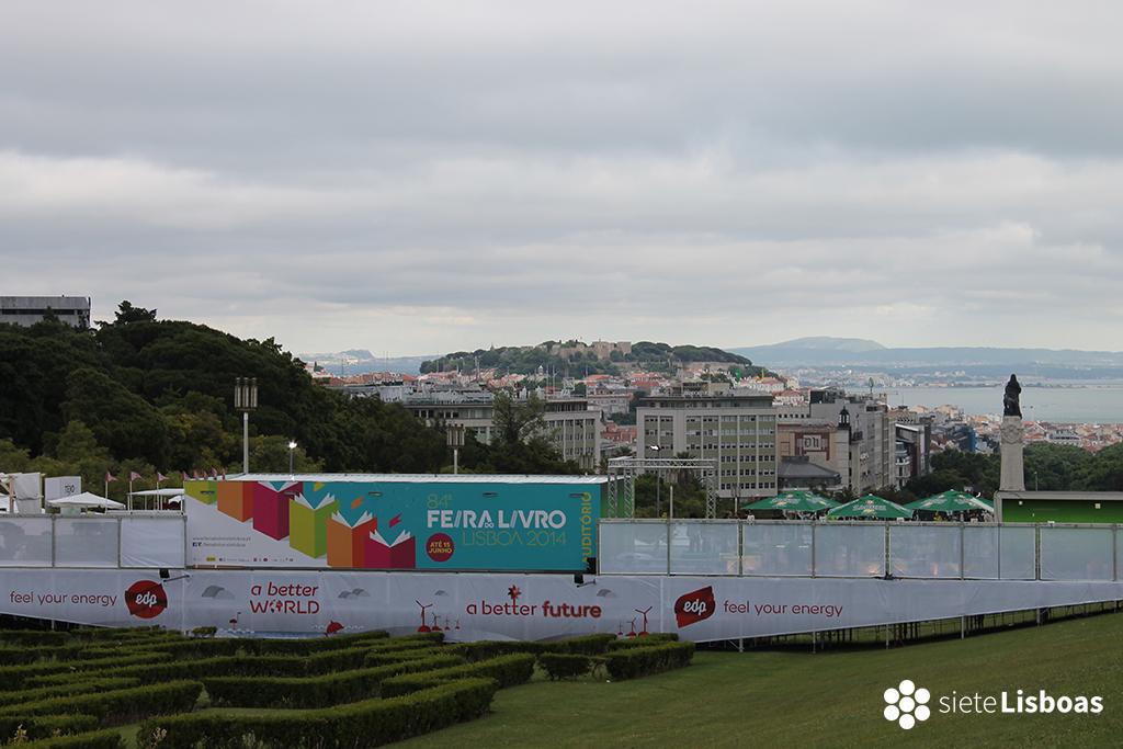 Imagen de la 84ª Edición de la Feria del Libro de Lisboa tomada por sieteLisboas.