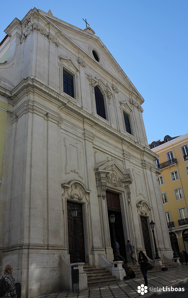 Fotografía de la 'Igreja da Nossa Senhora dos Mártires' tomada por sieteLisboas.
