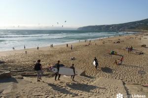 Playas: La costa entre Cascais y Lisboa