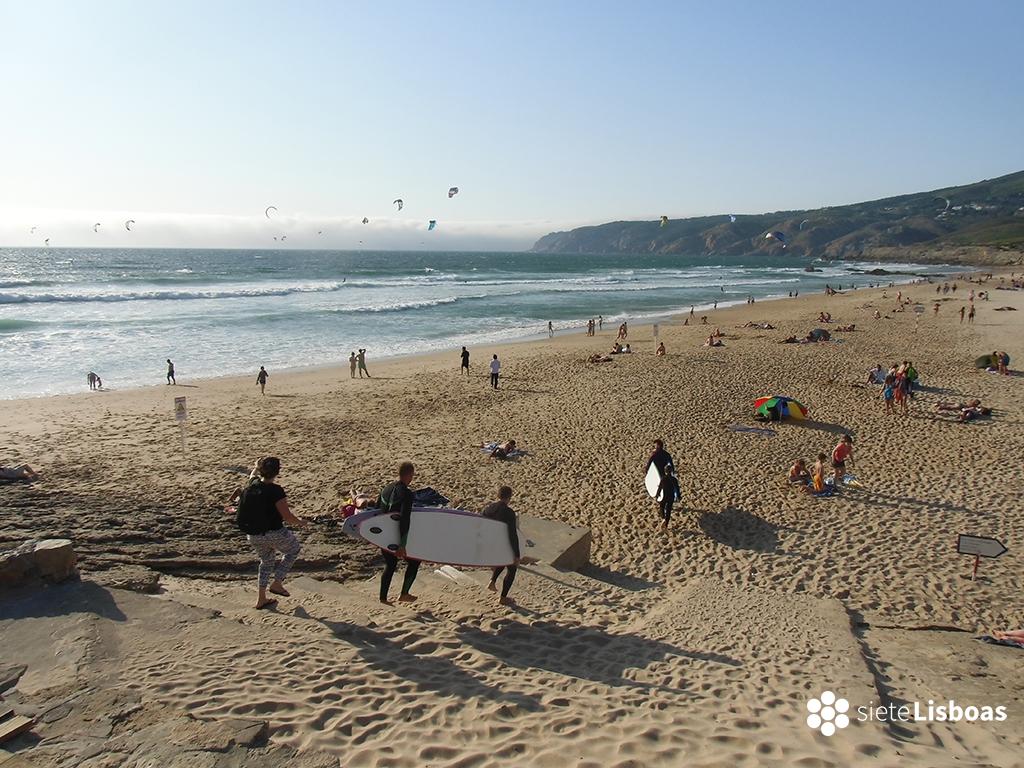 Fotografía tomada en 'Praia do Guincho' por sieteLisboas.