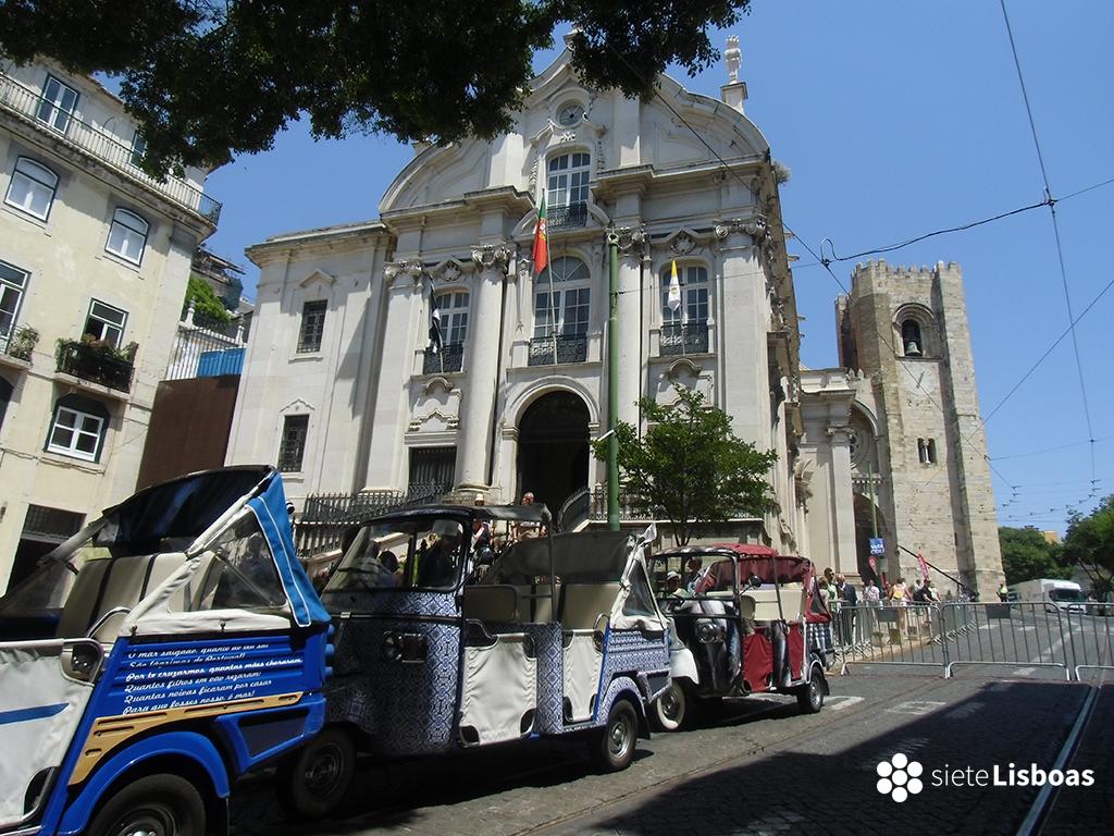 Fotografía de la 'Igreja do Santo António' tomada por sieteLisboas.