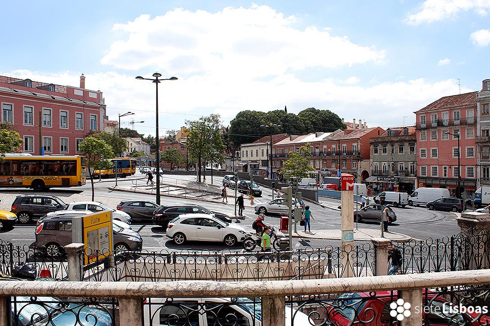 Imagen del 'Largo do Rato' tomada por Cristian Rodríguez, fotógrafo y director de Arte de sieteLisboas.