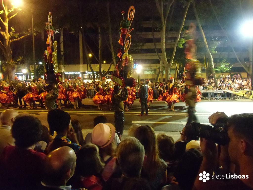 Fotografía de las 'Marchas Populares' de 2014 tomada por sieteLisboas.