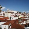 Fotografía del 'Mosteiro de São Vicente de Fora' tomada desde el 'Miradouro das Portas do Sol' por Marta Tortaja, cedida a sieteLisboas.
