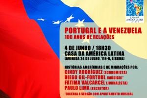 Encuentro Portugal – Venezuela – Casa da América Latina