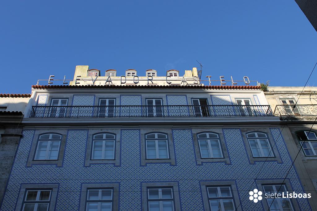 Fotografía del 'Elevador ao Castelo' tomada por sieteLisboas.