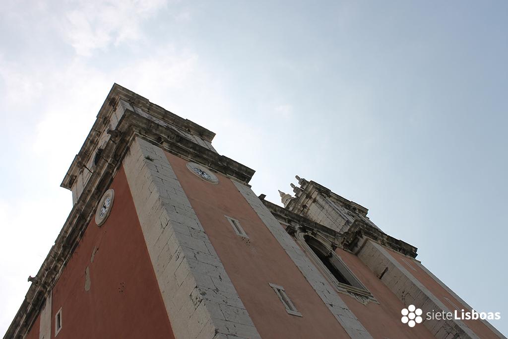 Fotografía de la 'Igreja Santos-o-Velho' tomada por sieteLisboas.