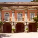Fotografía de la fachada del 'Museu Nacional do Traje' cedida por el museo a sieteLisboas.