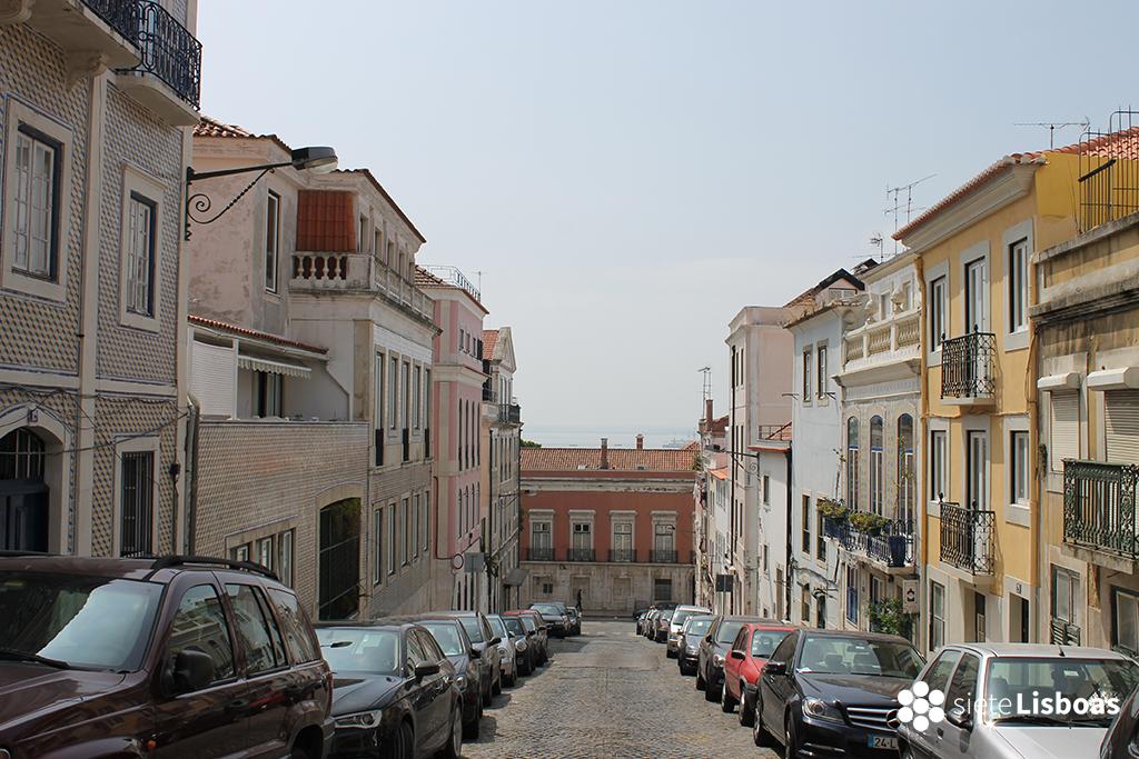 Fotografía de la 'Rua Trinas' tomada por sieteLisboas.