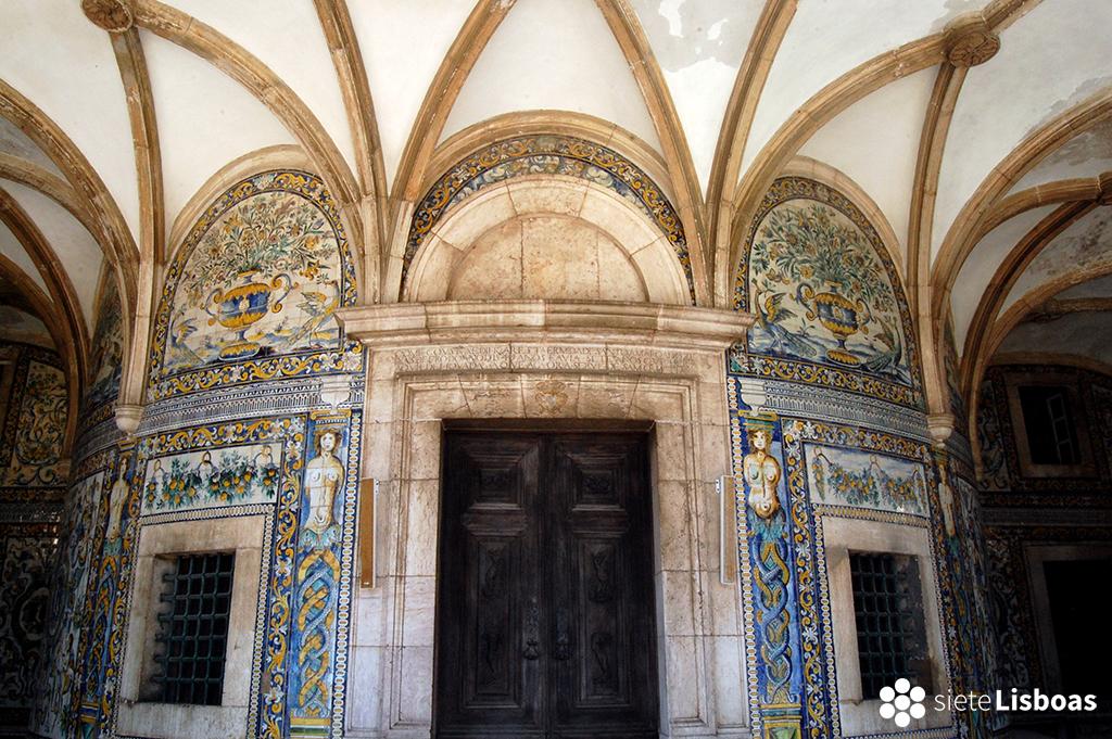 Fotografía de la 'Capela de Santo Amaro' tomada por Antoaneta Roman, cedida a sieteLisboas.
