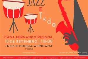 Poesía Africana – Jazz – Casa Fernando Pessoa