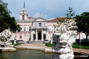El Conjunto del <em>Palácio das Necessidades</em>
