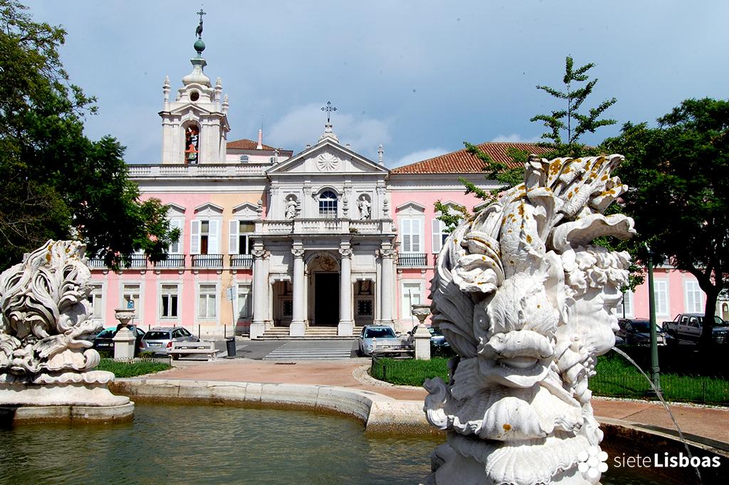 Fotografía del 'Palácio das Necessidades' tomada por Antoaneta Roman, cedida a sieteLisboas.