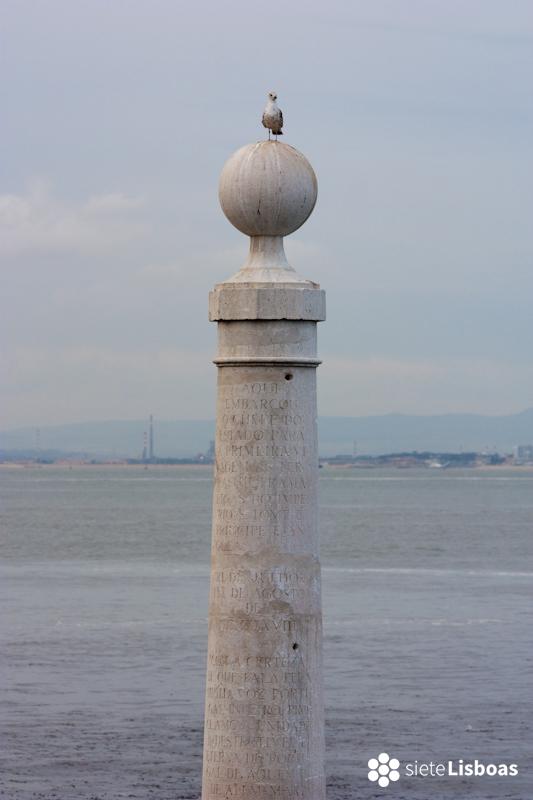 Fotografía del 'Cais das Colunas' tomada por José Albuquerque y cedida a sieteLisboas