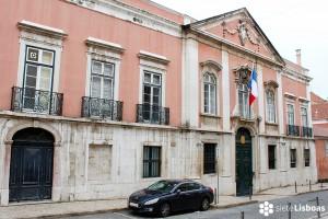 El Palacio de los Marqueses de Abrantes (Embajada de Francia en Lisboa)