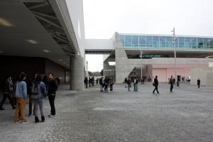 Imagen del la fachada del nuevo 'Museu dos Coches' cedida por el museo a sieteLisboas.
