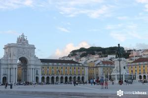 La Plaza del Comercio (<em>Praça do Comércio</em>)