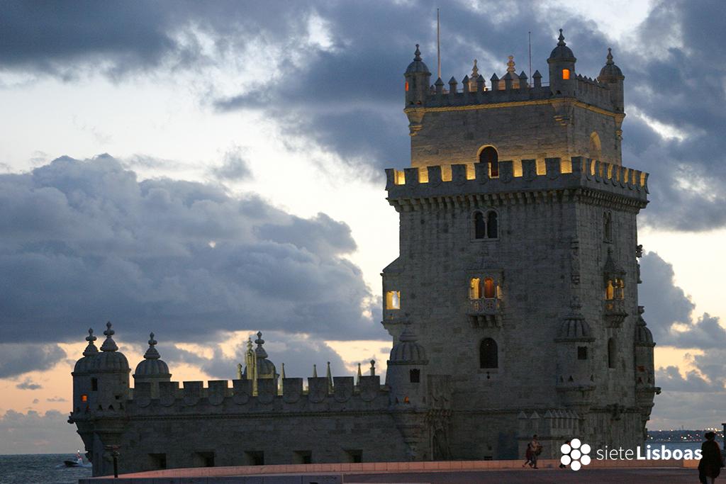 Imagen de la 'Torre de Belém' tomada por el fotógrafo Nuno Cardal, cedida a sieteLisboas.