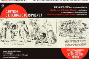Mesa Redonda – Ilustradores y Libertad de Prensa- <em>Museu Bordalo Pinheiro</em>