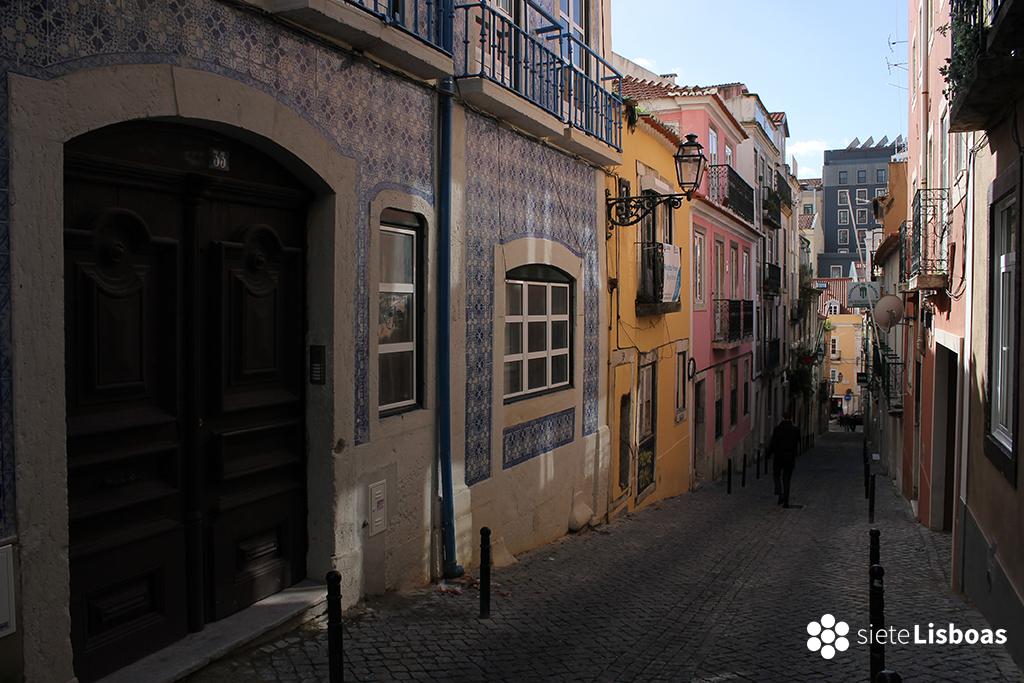 Fotografía de la 'Rua da Fe' tomada por sieteLisboas.