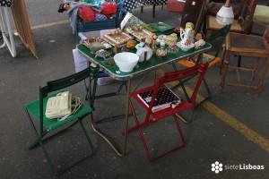 Fotografía de la 'Feira da Buzina' tomada por sieteLisboas.